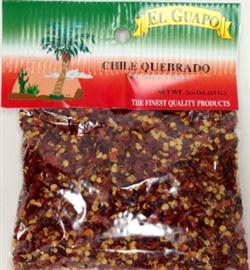 Picture of Chile Quebrado Crushed Chili Pepper 2 1/4 oz- Item No.44989-00239