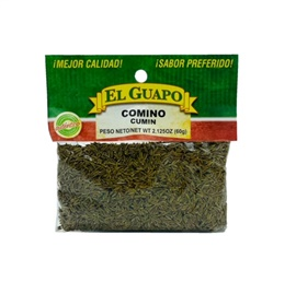 Picture of Comino Entero Whole Cumin 2 1/8 oz - Item No. 44989-00622