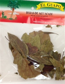 Picture of Hoja de Aguacate Avocado Leaves 1/4 oz - Item No. 44989-20193