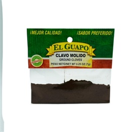 Picture of Ground Cloves - Clavo Molido 1/4 oz- Item No.44989-33011