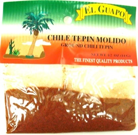 Picture of Ground Chili Tepin - Chiltepin Molido 0.5 oz - Item No. 44989-33045