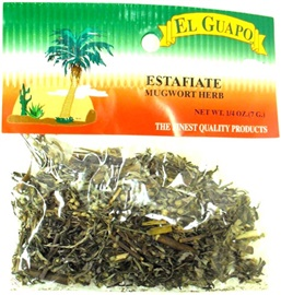 Picture of Mugwort Herb - Estafiate 1/4 oz - Item No. 44989-33080