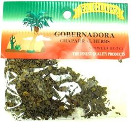 Picture of Gobernadora Chaparral Herbs 1/4 oz- Item No.44989-33084