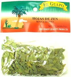 Picture of Senna Leaves - Hojas de Zen - Hojasen 1/4 oz- Item No.44989-33089