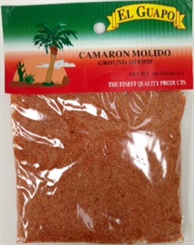 Picture of Ground Shrimp - Camaron Molido by El Guapo 1 oz - Item No. 44989-33190
