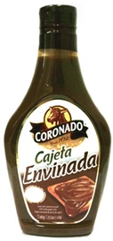 Picture of Cajeta - Coronado Cajeta Envinada - Wine Flavor (Squeeze Bottle) 23.1 oz - Item No. 4600