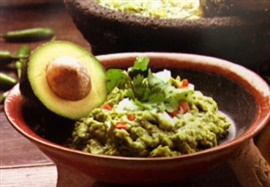 Picture of Guacamole Mixtec Style Authentic Mexican Recipe - Item No. 463-guacamole--mixtec-style