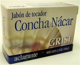 Picture of GRISI Concha Nacar - Mother of Pearl Bar Soap 3.5 OZ - Item No. 47555