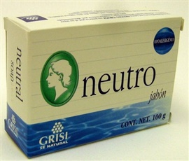 Picture of GRISI Neutro - Neutral Bar Soap 3.5 oz - Item No. 47561