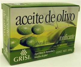 Picture of GRISI Aceite de Olivo - Olive Oil Bar Soap 3.5 OZ - Item No. 47563