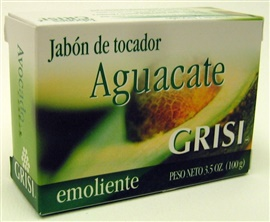 Picture of GRISI Aguacate - Avocado Bar Soap 3.5 OZ - Item No. 47566