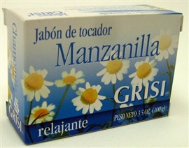 Picture of GRISI Manzanilla - Chamomile Bar Soap 3.5 OZ - Item No. 47571