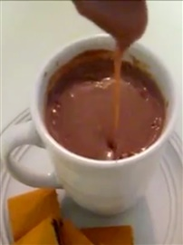 Picture of Mexican Hot Chocolate Champurrado Recipe- Item No.483-mexican-hot-chocolate-champurrado