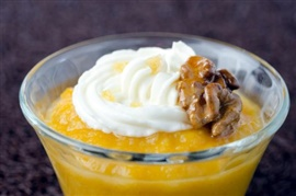 Picture of Mango Pudding Mexican Dessert Recipe - Item No. 497-mango-pudding