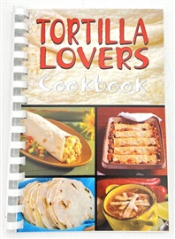Picture of Tortilla Lovers Cook Book by Bruce and Bobbi Fischer - Item No. 50006