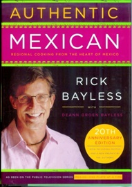 Picture of Authentic Mexican Cookbook by Rick Bayless with Deann Groen Bayless - Item No. 50023