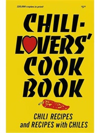 Picture of Chili-Lovers Cook Book by Al and Mildred Fischer - Item No. 50030