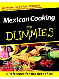 Picture of Mexican Cooking For Dumies by Feniger and Milliken- Item No.50036