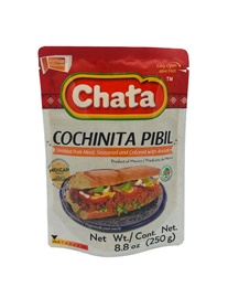 Picture of Cochinita Pibil in Pouch by Chata 8.8 oz - Item No. 501023-535041