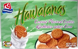 Picture of Gamesa Hawaiians Cookies 14.8 oz.- Item No.5011