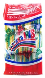 Picture of Lluvia de Arco Iris Mini Oblea - Item No. 501810-600037