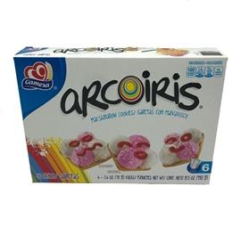 Picture of Gamesa Arcoiris - Rainbow Cookies 15.5 oz- Item No.5026