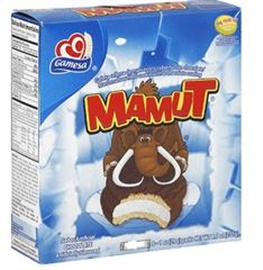Picture of Gamesa Mamut Chocolate Covered Marshmallow Cookies - 8.5 oz - Item No. 5028