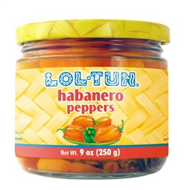 Picture of Lol Tun Habanero Peppers 9 oz - Item No. 503000-208511