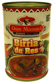 Picture of Don Manuel Birria - Beef Stew- Ready to Serve No Preservatives 15 oz - Item No. 503006-77203