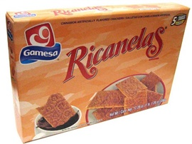 Picture of Gamesa Ricanelas 17.2 oz - Item No. 5031