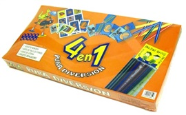 Picture of 4 en 1 juegos para ninos 1 unit - Item No. 50409-022046