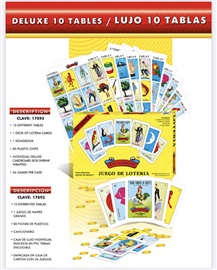 Picture of Loteria professional en caja 10 tablas 1 unit - Item No. 50409-220038