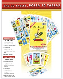 Picture of Loteria Mexicana con 20 tablas 1 unit - Item No. 50409-220083