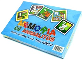 Picture of Memoria de Animalitos para Ninos 1 unit - Item No. 50409-220397