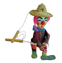Picture of Mexican Puppet - Titere - Item No.50409-87114