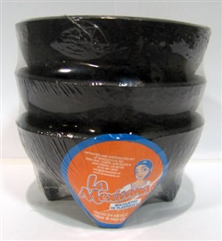 Picture of Salsa Bowls - Small Plastic Molcajete -  3 / 8 oz bowls - Item No. 50409-87150
