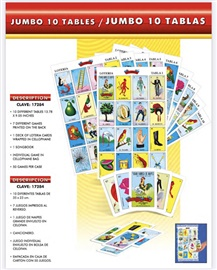 "Picture of Juego de Loteria Gigante 15"" x 9.5"" - 37.5 cms x 23.5 cms- Item No.50409-87318"