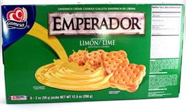 Picture of Gamesa - Emperador Piruetas Cookies Lime - Sabor Limon 14.8 oz - Item No. 5045
