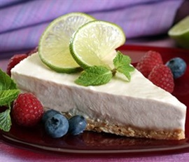 Picture of Lime Pie La Lechera Recipe - Item No. 506-la-lechera-lime-pie