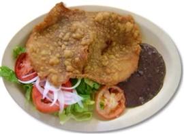 Picture of Milanesa de Res - Milanesas Mexican Style Recipe- Item No.513-milanesas