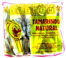 Picture of Paleta Lizeth Tamarindo Natural 20 pieces - Item No. 51386-01125
