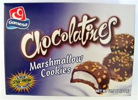 Picture of Mexican Cookies - Gamesa Chocolatines 11.7 oz - Item No. 5174