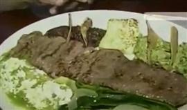 Picture of Tampiquena Steak - Carne Asada a la Tampique�a Mexican Recipe- Item No.521-steak-tampiquena