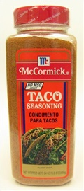 Picture of McCormick Taco Seasoning 24 oz - Item No. 52100-30246