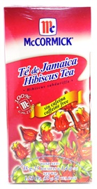 Picture of McCormick Hibiscus Tea Caffeine Free (1.23 Oz.) 25 Tea Bags - Item No. 52100-73716