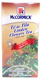 Picture of McCormick Linden Flowers Tea - Tilia Spp - Caffeine Free (0.89 Oz.) 25 Tea Bags - Item No. 52100-73723