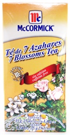 Picture of McCormick Seven Blossoms Tea - Caffeine Free (1.24 Oz.) 25 Tea Bags - Item No. 52100-73724