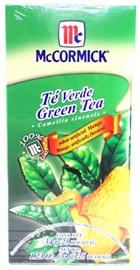 Picture of McCormick Green Tea and Mango (1.23 Oz.) 25 Tea Bags- Item No.52100-73727