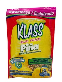 Picture of Klass Pineapple Sweetened Drink Mix  (Pack of 3) - Item No. 54177-50167
