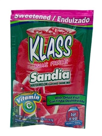 Picture of Klass Sweetened Watermelon Flavored Drink Mix (Pack of 3) 0.26 oz each - Item No. 54177-50429